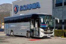 Erster Scania Bus für Polizeieinsätze in Österreich