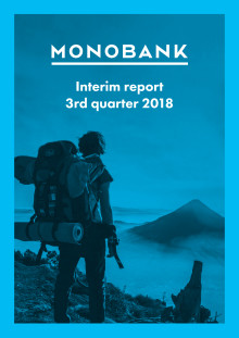 Monobank ASA Q3 2018 Report