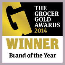 Müller Wins Brand of the Year at The Grocer Gold Awards 2014