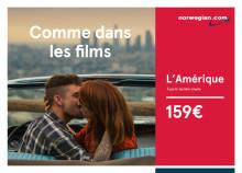 Norwegian présente « America Just like in the movies »  sa première campagne télé diffusée en France