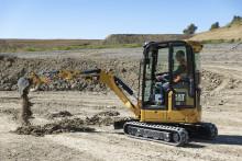 Nu släpps Caterpillars nya generation minigrävare i klassen 1-2 ton