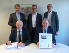 Konzessionsvertrag unterschrieben: Bünde und Westfalen Weser Netz setzen Zusammenarbeit fort