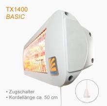 Thermalex® Bad-Heizstrahler jetzt auch mit klassischem Zugschnurschalter