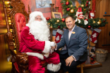 Let It Snow - Center Parcs Longford Forest is transformed into a Winter Wonderland