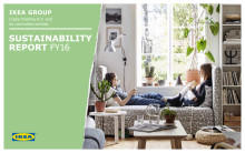 IKEA koncernens hållbarhetsrapport för 2016