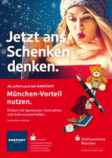 """Die Karstadt Warenhäuser in München sind neuer Partner der Geld-Zurück Aktion """"München Vorteil"""""""
