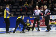 Curling-VM: VM-silver för lag Edin