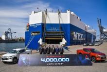 Meilenstein für Mitsubishi in Thailand: vier Millionen Exportfahrzeuge