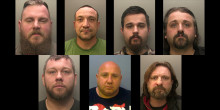 ​Seven bikers convicted of 68 counts in relation to attack in Blindley Heath in November