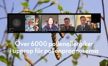 Över 6000 pollenallergiker i upprop för pollenprognoserna