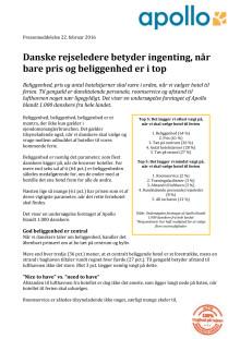 Dansktalende rejseledere betyder ingenting, når bare pris og beliggenhed er i top