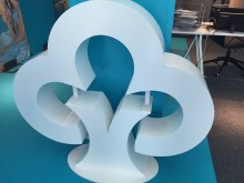 Sparbanken öppnade Pop up-bankkontor i Helsingfors