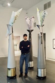 Admir Batlak er årets debutant på Høstutstillingen
