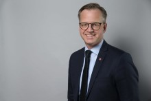 Näringsminister Mikael Damberg invigningstalar på Euro Mine Expo
