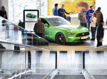"""Ford lanserer """"Smart Lab"""" med prøvekjøring på kjøpesenter"""