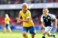 Damlandslaget i fotboll till Helsingborg