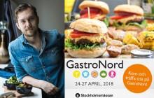 GastroNord goes Vegan! Chefs´Talk och meny a la Jävligt Gott på Stockholmsmässan plus panelsamtal om vego i skolan med Sofia Arkelsten (M) och Jens Holm (V)