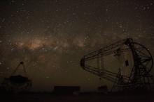 Världens största teleskop för gamma-strålning ser ljuset
