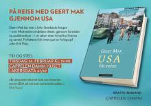 Velkommen til boklansering: På reise med Geert Mak gjennom USA
