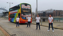 Go North East shows its support for World AIDS Day