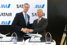 All Nippon Airways of Japan signs for Integrated Material Services (IMS) solution from Satair and becomes the fifth Asia-Pasific carrier to select IMS