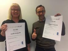 Inwido Sverige investerar i höjd kvalitet  och säkerhet genom ISO-certifiering