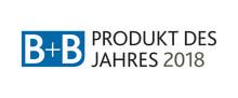 B+B PRODUKT DES JAHRES 2018