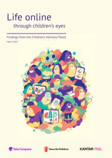 Livet på nett gjennom barnas øyne - en rapport fra Telia