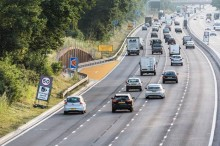 RAC comments on Highways England trial of a bright orange emergency refuge area for smart motorways
