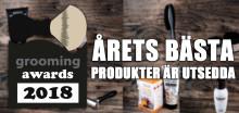 Grooming Awards 2018 - årets bästa produkter för män!