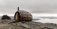 FREEFORM HEXAGONAL-SHELL HIKING CABINS MAKE THEIR DEBUT IN THE NORWEGIAN MOUNTAINS