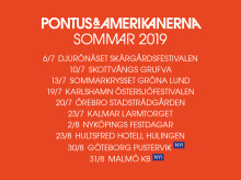 Pontus & Amerikanerna adderar turnédatum: Göteborg och Malmö!