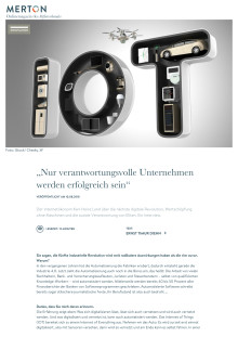 Merton-Magazin des Stifterverbandes: Karl-Heinz Land über Erde 5.0 und die Verantwortung der Unternehmen