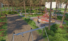 Riksbyggen bygger jättelekplats i Skellefteå