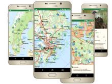 Ny app till hela Sveriges natur och friluftsliv