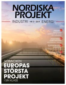 Nya numret av Nordiska Projekt nr 5 2019 ute nu!
