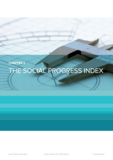 The Social Progress Index - chapter 2