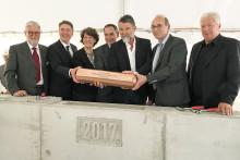 Grundsteinlegung für Technik-Neubau der Dualen Hochschule Baden-Württemberg (DHBW) in Stuttgart