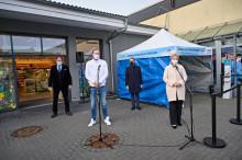dm eröffnet erstes Corona-Schnelltest-Zentrum in Schwerin