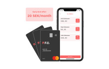 Swedish Fintech Startup P.F.C. Launches a Children's Spending Card