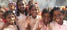 ISS stödjer ytterligare en indisk by genom Hand in Hand