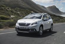 Sverigepremiär för Peugeot 2008 - kompakt, tuff och robust crossover