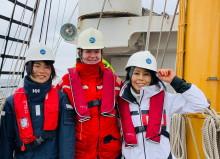 【ニュースレター】競技ヨットから大型帆船に乗り換え大海原へ