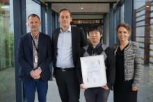 Eklund Foundation scholarship recipient lectured at TePe