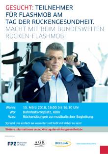 Poster Flashmob Köln