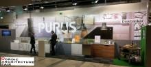 Purus ställer ut i monter F03:52 på Nordic Architecture Fair i Göteborg.