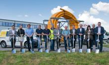 Spatenstich für neue Erdgasleitung in Schönsee