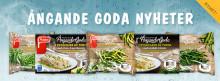 Nytt, enkelt och näringsriktigt koncept från Findus: Ångande Goda grönsaker tar plats på tallriken