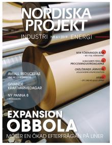 Nya numret av Nordiska Projekt nr 6 2019 ute nu!