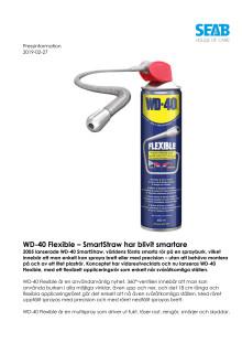 WD-40 Flexible – SmartStraw har blivit smartare